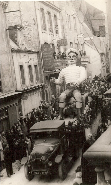 Ancienne photographie carnaval