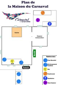 Plan maison du carnaval