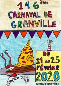 affiche 146 carnaval de Granville