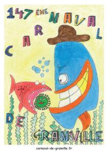 affiche carnaval de granville 2021